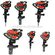 Novo 50mm 55mm 70 milímetros 900w 32.7cc Handheld Gas Powered Piling Machine Portátil Gasolina pilha Driver Posições