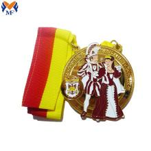 Médailles du trophée de la couronne d'or