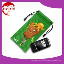 Мешок мобильного телефона Microfiber оптовой цены с drawstring