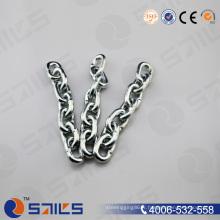 Chaîne à maillons courts en acier inoxydable DIN 5685 / chaîne noire Sr-J