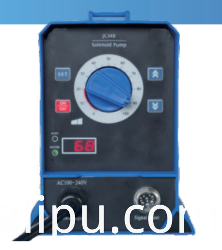 Solenoid pump Auto-Adjust (Digital impulse signal control feedback with Rs485 communication interface)
