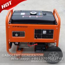 220V 50hz 5kw stiller Benzingenerator