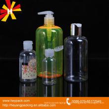 Todo tipo de botella de plástico para envases cosméticos
