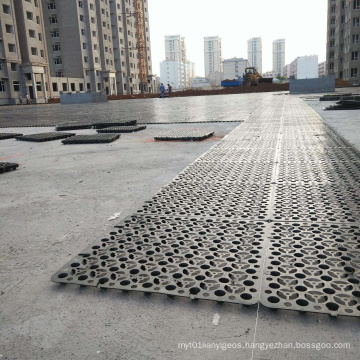 HDPE PP Water Storage Drainage Board Widely Used in Sports Direct Deal 50*50cm Black White Green