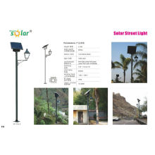 16W lumière de rue solaire style européen