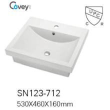 Керамический полу-утопленный большой размер бассейна / раковины с Cupc / Ce (A-SN123-712)