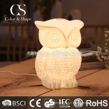 Owl Design Decoration Lighting Lampe de table
