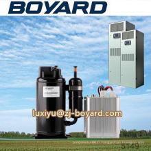 Compresseur de haute qualité r134a 72V horizontal 10000BTU dc inverter utilise de système de véhicule spécial