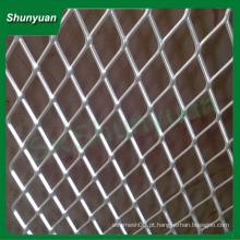 Amplamente utilizado 1x1.8mm alumínio expandido malha metálica / malha de arame