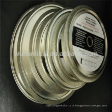 2 em 1 perfilamento e corte galvanizado diamante granito profiling wheel