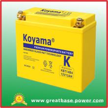 12V 13ah Motorrad Batterie (KBT14B4)