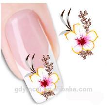 Autocollant personnalisé de tatouage de henné de clou pour la décoration de main