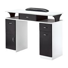 Table à ongles manucure avec 2 tiroirs