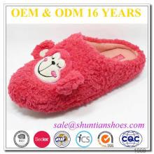 best seller popular TPR sole closed toe cartoon monkey animal slippers