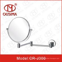 Зеркало для макияжа с круглой формой сгиба, используемое в ванной комнате