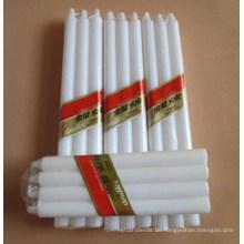 White Wax Taper Kerzen für die tägliche Beleuchtung