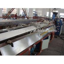 Lima de plástico PVC que hace la línea de extrusión de baldosas de máquina-PVC