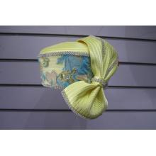 Chapeaux de soirée formels recouverts de tissu pour femmes