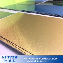 Feuille en aluminium blanche de sublimation personnalisée