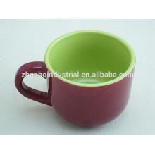 Ceramic high quality espresso coffee cups and saucers