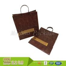 High Quality Custom Logo Boutique Shopping Heavy Duty Handle Hard Plastic Bags Wholesale
