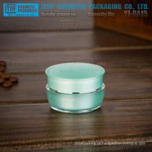 YJ-BA15-A 15g especial recomendado recipiente de cosméticos creme bom mini camadas dobro