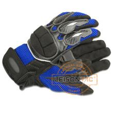Защитные перчатки, приняв PU кожа ладони колодки