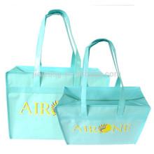2017 fashional pp zipper bag, custom hot sale pp non woven bag