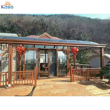 Upvc aluminiumsramme Sunhouse Winter Glass Sun House