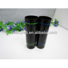Cosmetic packaging tube for hair care product