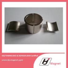 Alta potência forte neodímio ímã de segmento com ISO9001 Ts16949