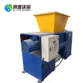 Scrap metal shredder double shaft engine shredder