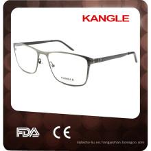 Los marcos ópticos más nuevos de la extremidad del acetato marcos y 2015 gafas de metal