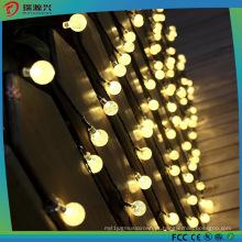 Luz impermeável da corda da bola do diodo emissor de luz com o bulbo para a decoração exterior