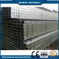 Tuyau d'acier carré / rectangulaire / rond galvanisé à chaud ERW