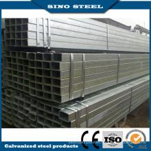 Tubo de acero al carbono cuadrado / rectangular ASTM de sección hueca