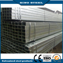 Q235 Grade Galvanized Carbon Square Steel Tube/Pipe
