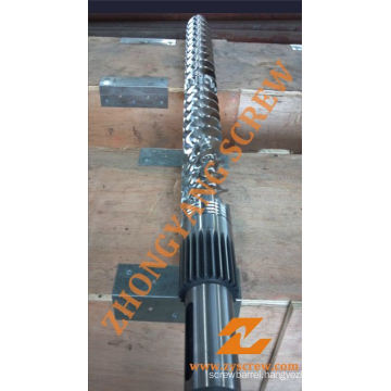 PP PE Flat Film Extrusion Single Screw Barrel