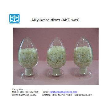 Alkyl Ketene Dimer AKD wax 1840 1865 en agente de encolado de papel