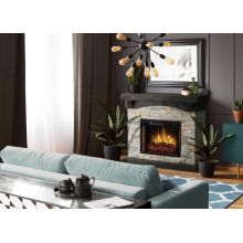 """26"""" Low Profile Electric Fireplace"""