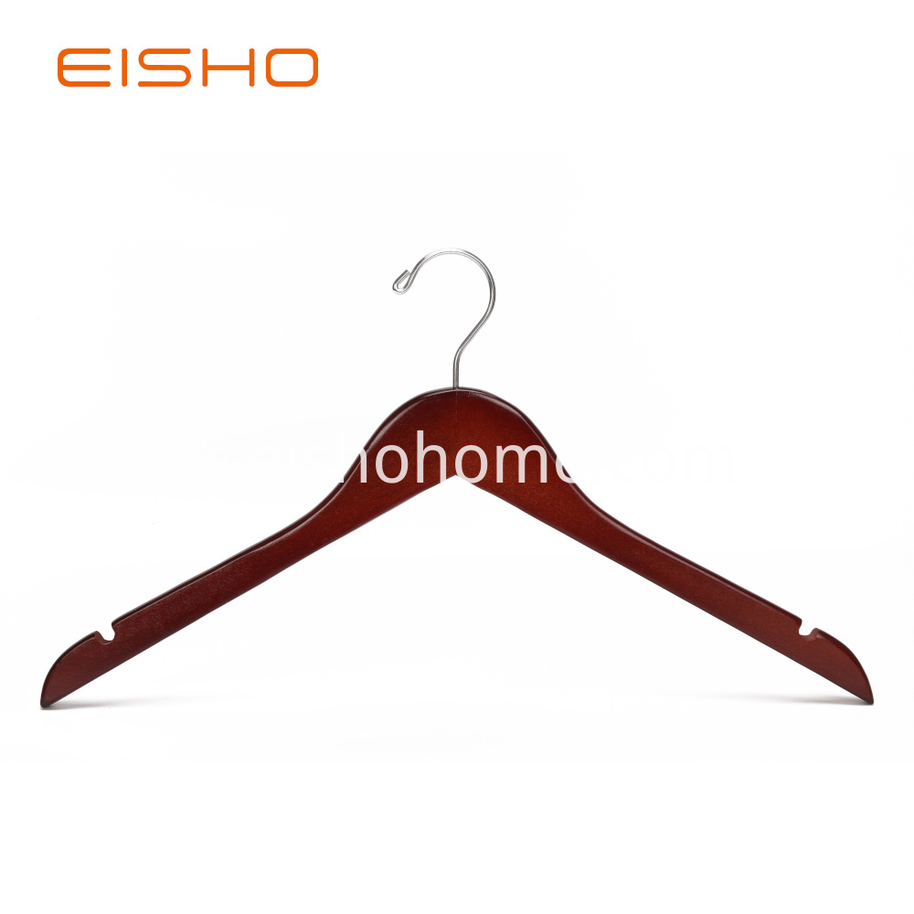 Ewh0013wood Hanger Shirt Hanger Coat Hanger Wooden Clothes Hanger