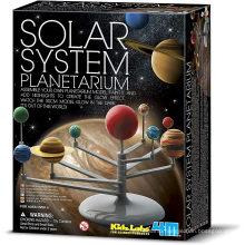 Solar System Planetarium - DIY Glow in The Dark Astronomy Planet Model Stem Toys Gift for Kids