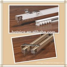 double wall curtain bracket flexible metal pipe,aluminium sliding window wheels
