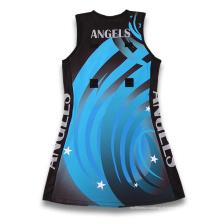 Uniforme de vestido de netball personalizado de 2015