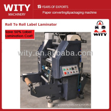 Roll to Roll Label Laminating Machine