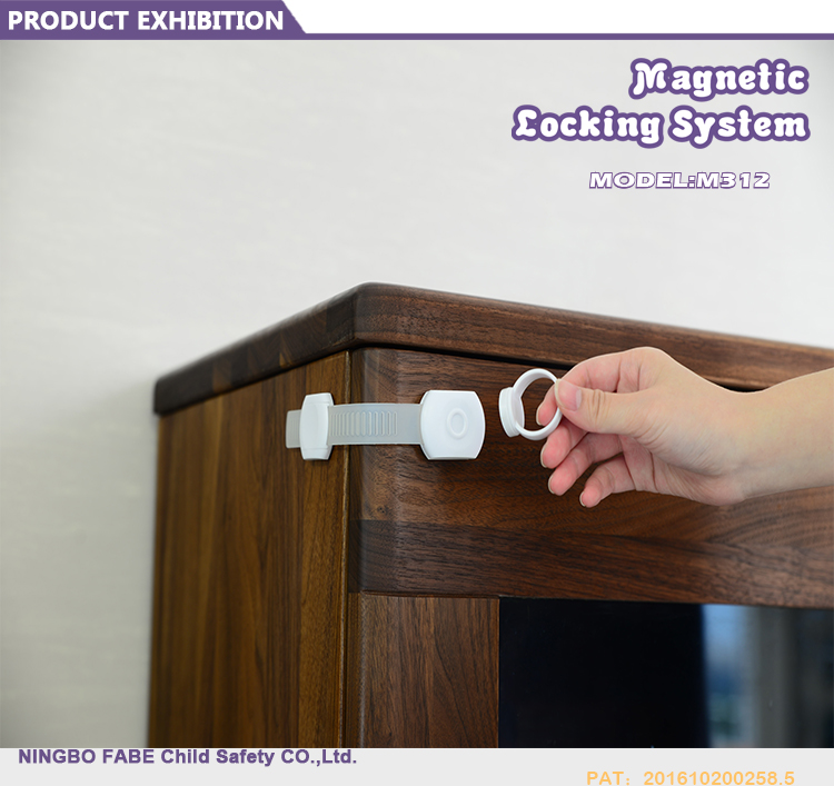 New Child Safety Lock with magnet