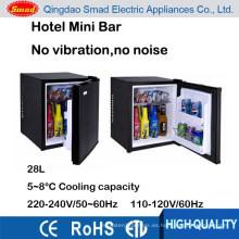 28 L 110 v 220 v mini bar refrigerador hotel minibar