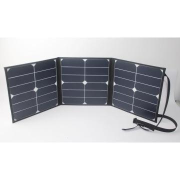 Matériau de silicium monocristallin et 280 * 280 mm (pliage) Panneau solaire pliable en taille