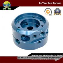 Алюминий металл CNC подвергая механической обработке с поворачивать и Филируя процесс