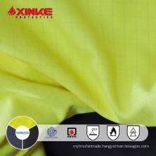 Xinke anti static non flammable modacrylic twill fabric